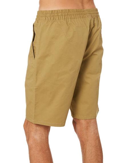 DARK KHAKI MENS CLOTHING VOLCOM SHORTS - A0902101DKA