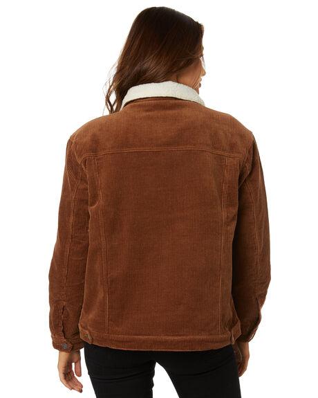 TORTOISE SHELL WOMENS CLOTHING RUSTY JACKETS - JKL0370TOR