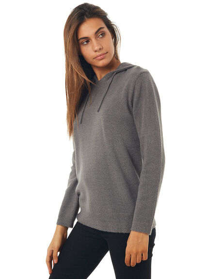 BLACK WOMENS CLOTHING HURLEY KNITS + CARDIGANS - AGKNCST00A