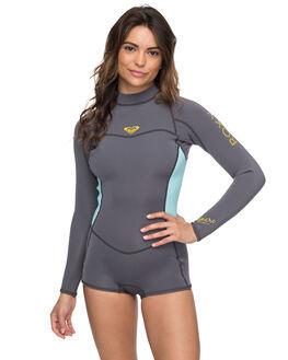 DEEP GREY GLACE BLUE BOARDSPORTS SURF ROXY WOMENS - ERJW403014XGGB