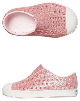 MILK PINK BLING KIDS TODDLER GIRLS NATIVE FOOTWEAR - 13100112-6805