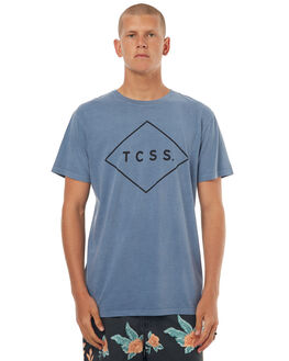 BLUE MIRAGE MENS CLOTHING THE CRITICAL SLIDE SOCIETY TEES - SWT1701BMRG