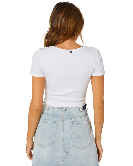 WHITE OUTLET WOMENS ALL ABOUT EVE TEES - 6456110WHT