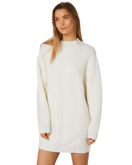 WARM WHITE WOMENS CLOTHING ZULU AND ZEPHYR DRESSES - ZZ2438WWHT