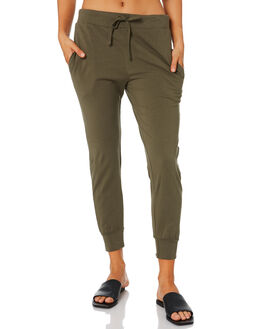 KHAKI WOMENS CLOTHING SILENT THEORY PANTS - 6041011KHK