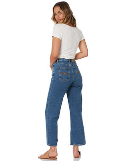 GENTLE BLUES WOMENS CLOTHING NUDIE JEANS CO JEANS - 113435GNTBL