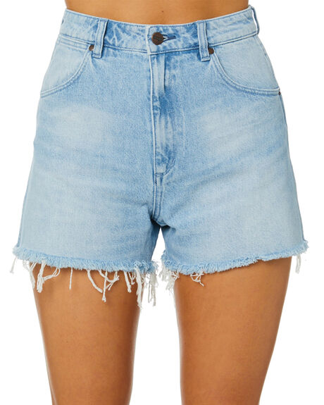 BLUE CHAIN WOMENS CLOTHING WRANGLER SHORTS - W-951817-OM3