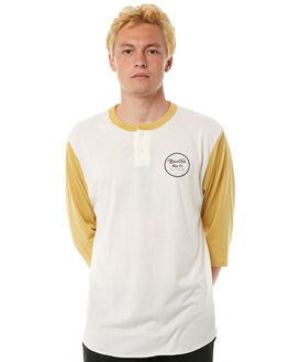 OFF WHITE MENS CLOTHING BRIXTON TEES - 02353WHMOD