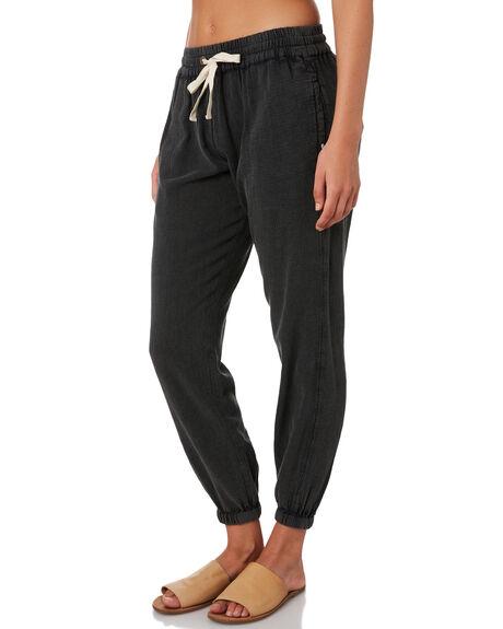 BLACK WOMENS CLOTHING RIP CURL PANTS - GPABL70090