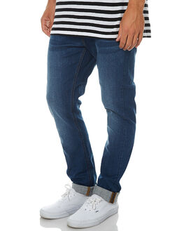 ALL AMERICA BLUE MENS CLOTHING RIDERS BY LEE JEANS - R-500773-BQ6AMRBL