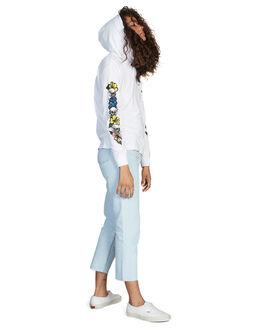 WHITE WOMENS CLOTHING QUIKSILVER TEES - EQWKT03012-WBB0