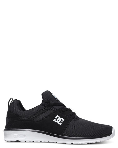 BLACK WHITE MENS FOOTWEAR DC SHOES SNEAKERS - ADYS700071BKW