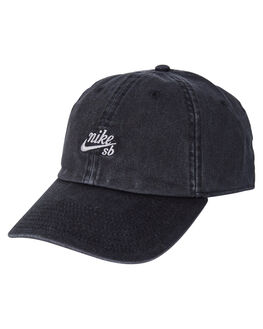 BLACK WOLF GREY MENS ACCESSORIES NIKE HEADWEAR - 925292-010