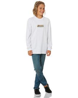 WHITE KIDS BOYS BILLABONG TOPS - 8595173WHT