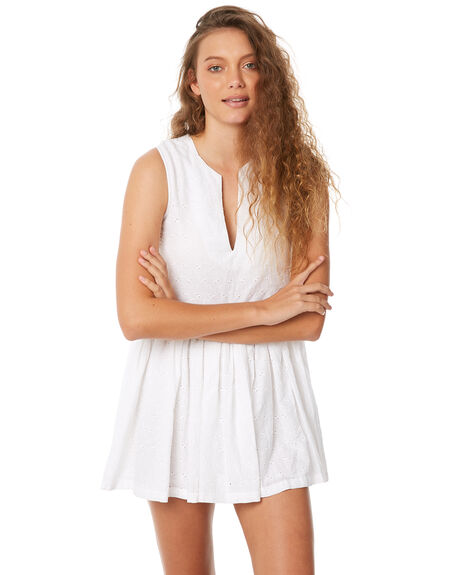 WHITE WOMENS CLOTHING ZULU AND ZEPHYR DRESSES - ZZ2060WHT