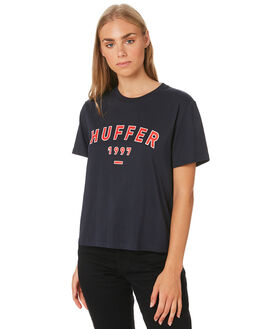 NAVY WOMENS CLOTHING HUFFER TEES - WTE01S4119NAVY