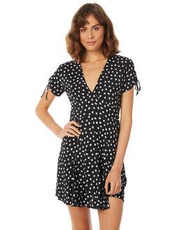 APACHE MIDNIGHT WOMENS CLOTHING RUE STIIC DRESSES - SA18-17-PM-P-APA