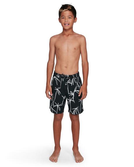 BLACK/WHITE KIDS BOYS BILLABONG BOARDSHORTS - BB-8503430-BA0