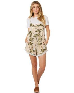 MOONLIGHT WOMENS CLOTHING BILLABONG PLAYSUITS + OVERALLS - 6595504MOO
