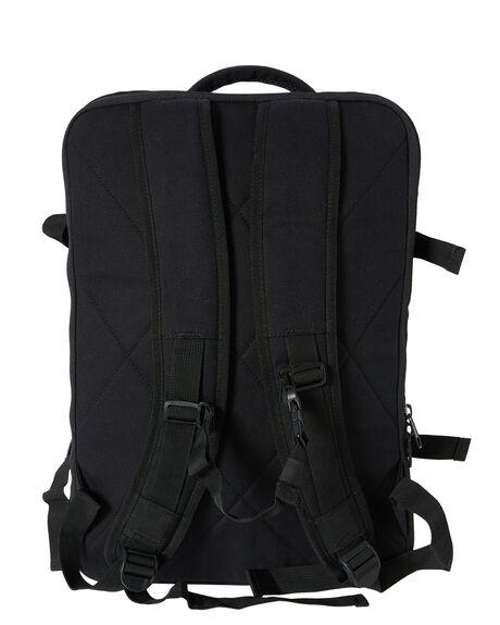 BLACK MENS ACCESSORIES RUSTY BAGS + BACKPACKS - BTM0205BLK
