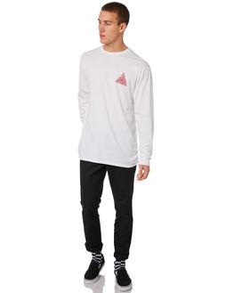 WHITE MENS CLOTHING VANS TEES - VNA3HGQWHT