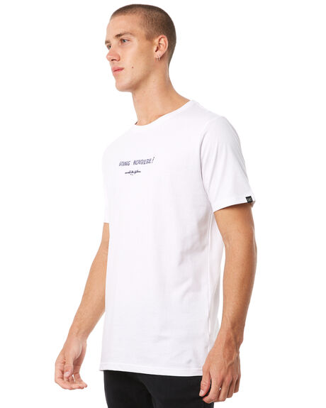 WHITE MENS CLOTHING MAYWOOD TEES - MTZ701WHITE