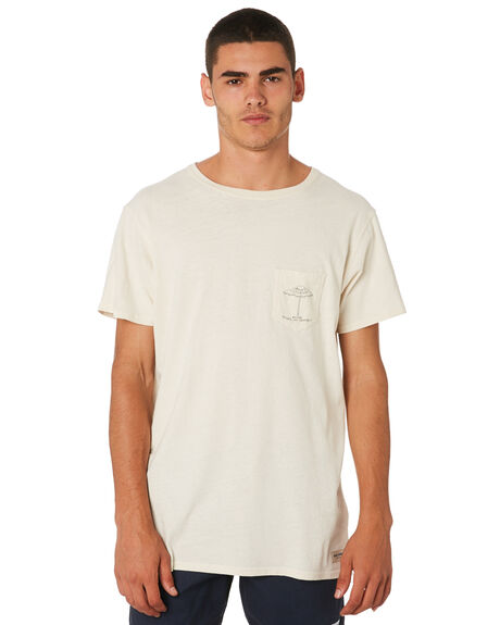 OFF WHITE MENS CLOTHING BANKS TEES - WTS0359OWH