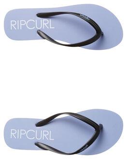 PURPLE WHITE WOMENS FOOTWEAR RIP CURL THONGS - TWT4311700