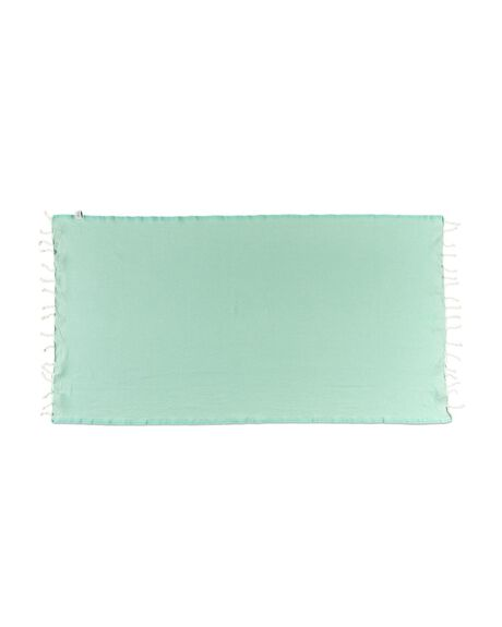 LIME WOMENS ACCESSORIES BLEM BEACH ACCESSORIES TOWELS - MINTLIMELUXE