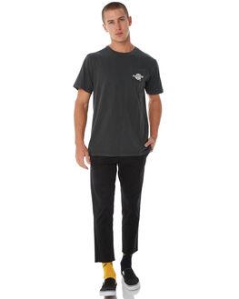MERCH BLACK MENS CLOTHING THRILLS TEES - TW8-103MBMBLK