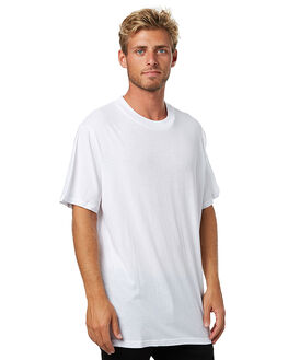 WHITE MENS CLOTHING ASSEMBLY TEES - AM-W1701WHT