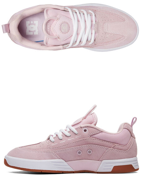 PINK WOMENS FOOTWEAR DC SHOES SNEAKERS - ADJS200022-PNK