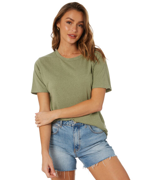OIL GREEN WOMENS CLOTHING SWELL TEES - S8211007OGRN