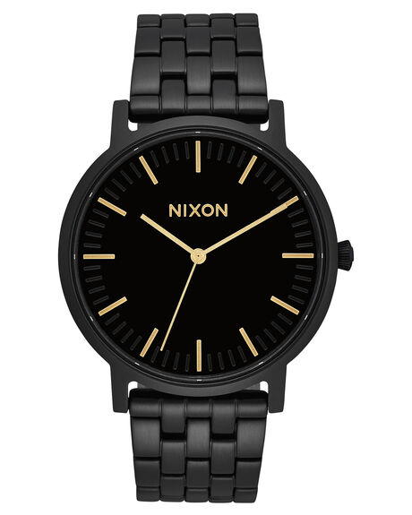 ALL BLACK GOLD MENS ACCESSORIES NIXON WATCHES - A10571031