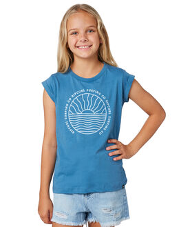 TEAL KIDS GIRLS RIP CURL TOPS - JTEDW14821