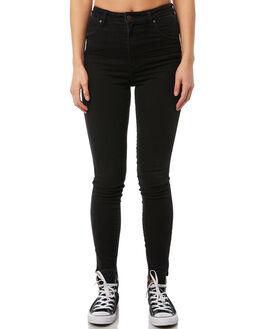 1993 BLACK WOMENS CLOTHING WRANGLER JEANS - W951038ER81993B