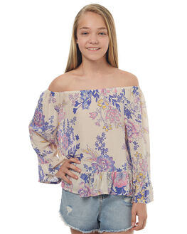 ALMOND KIDS GIRLS BILLABONG FASHION TOPS - 5572092A03