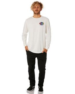 WHITE MENS CLOTHING KATIN TEES - LSUNI02WHT