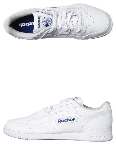 199a72659cb1c Reebok Workout Plus Shoe - White Royal