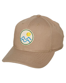 KHAKI MENS ACCESSORIES MOLLUSK HEADWEAR - MS1786KHA