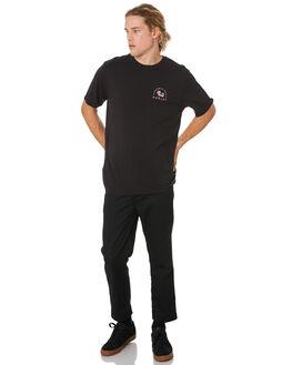 BLACK MENS CLOTHING HURLEY TEES - CI0333010