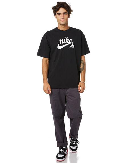 BLACK MENS CLOTHING NIKE TEES - DB9977010