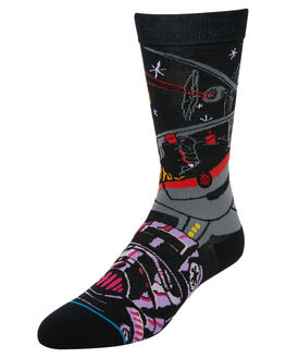 BLACK MENS CLOTHING STANCE SOCKS + UNDERWEAR - M545D18WAPBLK