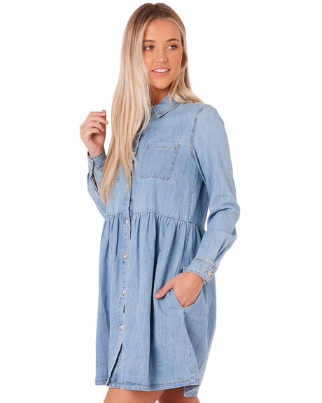 CHAMBRAY OUTLET WOMENS SWELL DRESSES - S8172449CHAMB