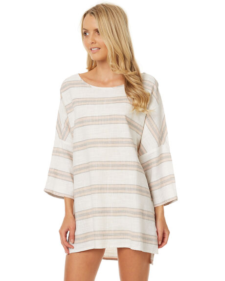 WHITE WOMENS CLOTHING BILLABONG FASHION TOPS - 6572152WHT
