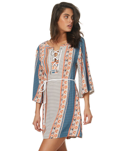 MULTI WOMENS CLOTHING TIGERLILY DRESSES - T372400MUL