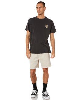 VINTAGE BLACK MENS CLOTHING THRILLS TEES - TR9-121BVVNBLK