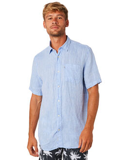 CHAMBRAY MENS CLOTHING ACADEMY BRAND SHIRTS - 19S880CHAMB