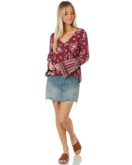 BERRY WOMENS CLOTHING SWELL FASHION TOPS - S8173167BERRY