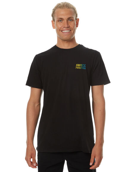 BLACK OUTLET MENS SWELL TEES - S5174024BLACK